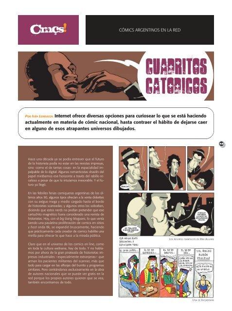 COMIC / Cuadritos catódicos - Revista La Central