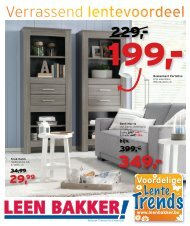 Trends - Leenbakker