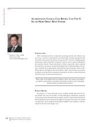 accreditation clinical case report, case type v - Scott Finlay, DDS ...