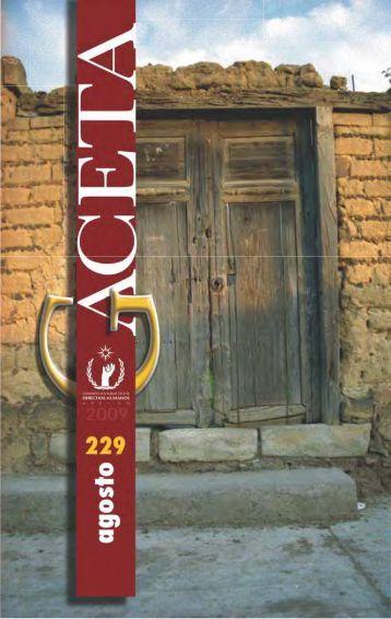 Gaceta N° 229 - Comisión Nacional de los Derechos Humanos