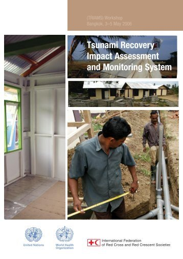 Tsunami Recovery Impact Assessment and Monitoring System