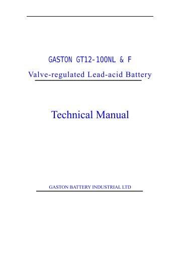 Narada Ä϶¼ - Gaston Battery Industrial Ltd.