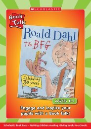 Engage and inspire your pupils with a Book Talk! - Scholastic