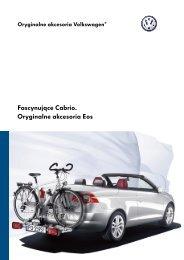 Fascynujące Cabrio. Oryginalne akcesoria Eos - besmarex.pl