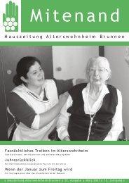 Hauszeitung Ausgabe Nr. 52 vom März 2007 - Brunnen