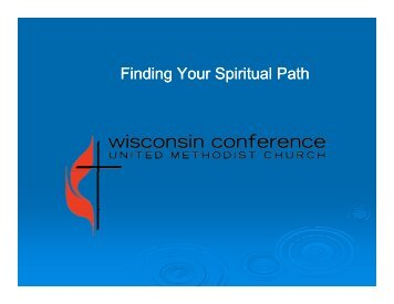 Clergy Day Powerpoint - Finding Your Spiritual Path