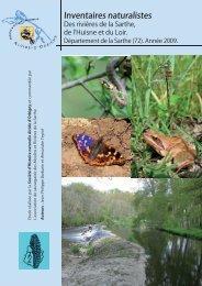 Etude sur la biodiversité réalisé en Sarthe