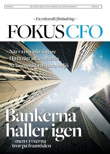 – men cfo:erna tror på framtiden – När cfo:n blir säljare ... - IDG.se