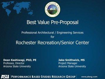 Best Value Summary Presentation Slides