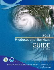 free PDF copy - National Climatic Data Center - NOAA