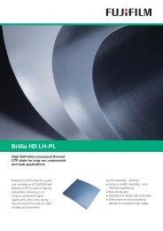 Brillia HD LH-PL (PDF:77KB) - Fujifilm