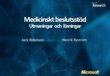 Medicinskt beslutsstöd - IDG