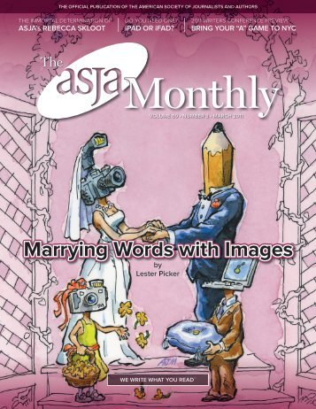 March 2011 - The ASJA Monthly