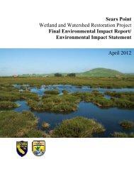 Final EIR-EIS Text - Sonoma Land Trust