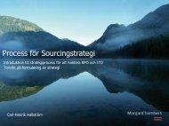 Process för Sourcingstrategi