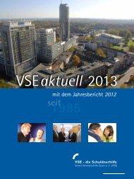 Download VSE aktuell 2013 mit dem Jahresbericht 2012 - Verein ...