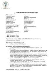 Minnesanteckningar Förskoleråd 20111121.pdf - Lomma kommun