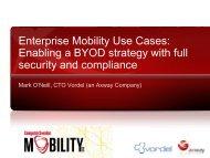 Enterprise Mobility Use Cases - Computer Sweden