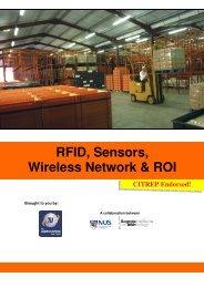 RFID, Sensors, Wireless Network & ROI - The Logistics Institute ...