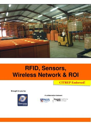 RFID, Sensors, Wireless Network & ROI - The Logistics Institute ...