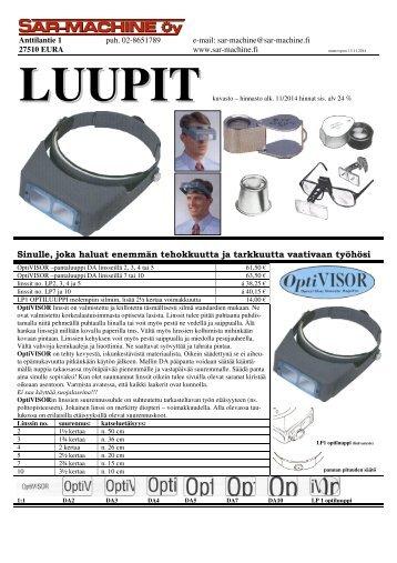 Luupit - SAR-Machine Oy