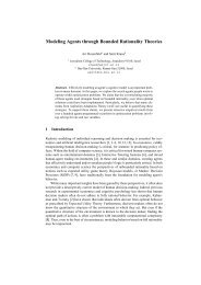 Modeling Agents through Bounded Rationality Theories