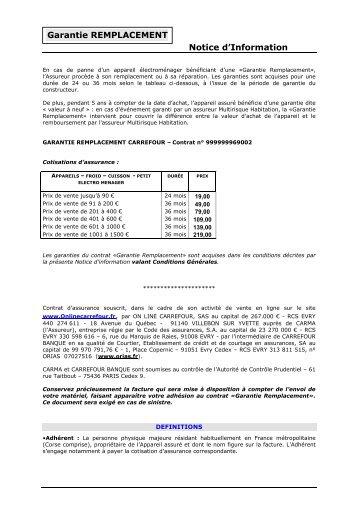 télécharger la notice d'information - E-Merchant