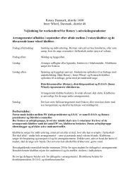 Retninglinier for ROTARY udvekslingstudenter - Distrikt 48 - Inner ...