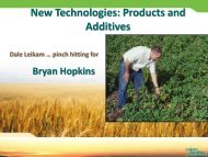 New Technologies: Products and Additives - Fluid Fertilizer Foundation