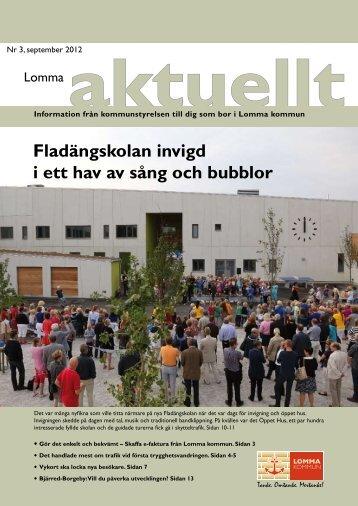 Fladängskolan invigd i ett hav av sång och bubblor - Lomma kommun
