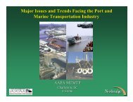 Major Issues and Trends Facing the Port and Marine Transportation ...