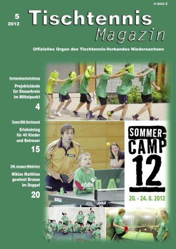 2012 Projektstände für Steuerkreis im Mittelpunkt ... - TTVN