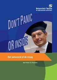 070830 Oratieboekje Boucherie - Toegepaste Wiskunde intro