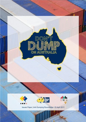 Anti Dumping Roundtable - The Australian Workers Union