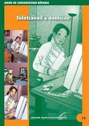 Télétravail à domicile - Service public fédéral Emploi, Travail et ...