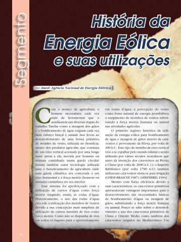 História da Energia Eólica e suas utilizações - Revista Ecoenergia