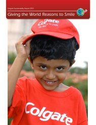 Giving the World Reasons to Smile - Colgate