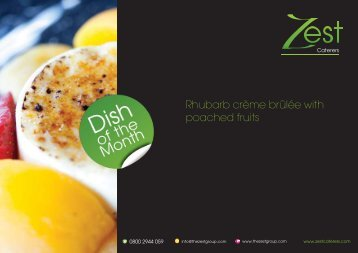 March - Zest Caterers