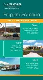LifeStyles Program Schedule (pdf) - Akron General Medical Center