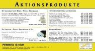 Ferrex - Aktionsprodukte 2010 Postkarte:Postkarte ... - Ferrex GmbH