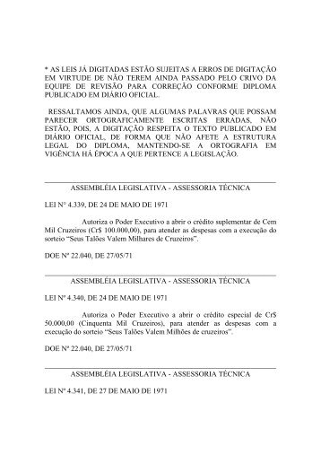 Leiord1971 - Assembléia Legislativa do Estado do Pará - Governo ...