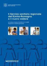 Il Servizio sanitario regionale dell'Emilia-Romagna e il ... - Saluter