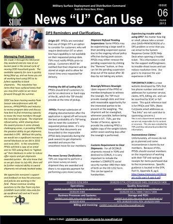 June 2012 Newsletter.pdf - SDDC