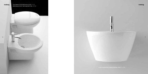 Nero Ceramica Genesi Prezzi.Iceberg Vaso Sospeso 51x3