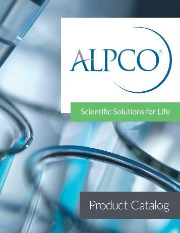 Download a Product Catalog - ALPCO Diagnostics
