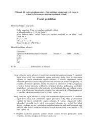 Čestné prohlášení - Ústav pro studium totalitních režimů