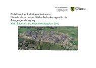 Neue bodenschutzrechtliche Anforderungen für - GWZ Dresden