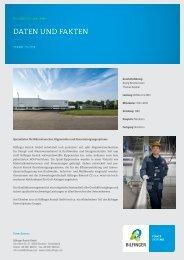 DATEN UND fAKTEN - Bilfinger Rosink GmbH