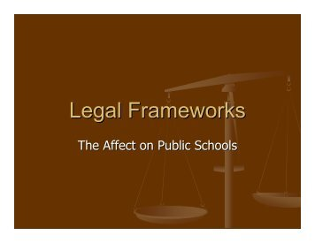 Legal Frameworks - To Parent Directory