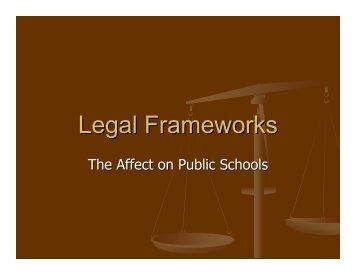 Legal Frameworks - To Parent Directory